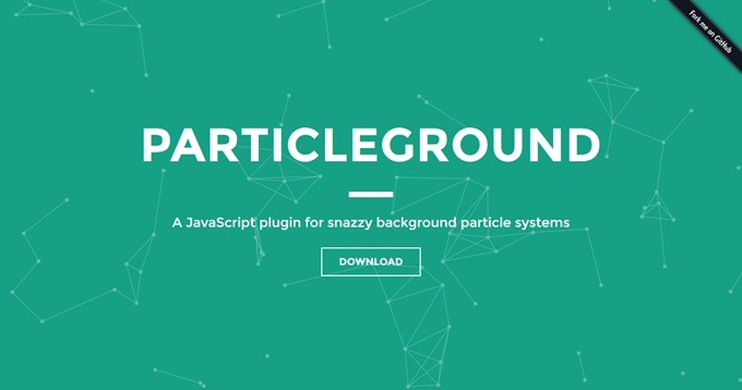 Particlegroundデモ