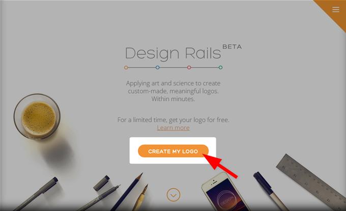 Design Railsの作成ボタンを押す