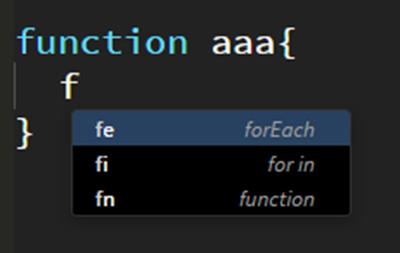 JavaScriptのコードヒント