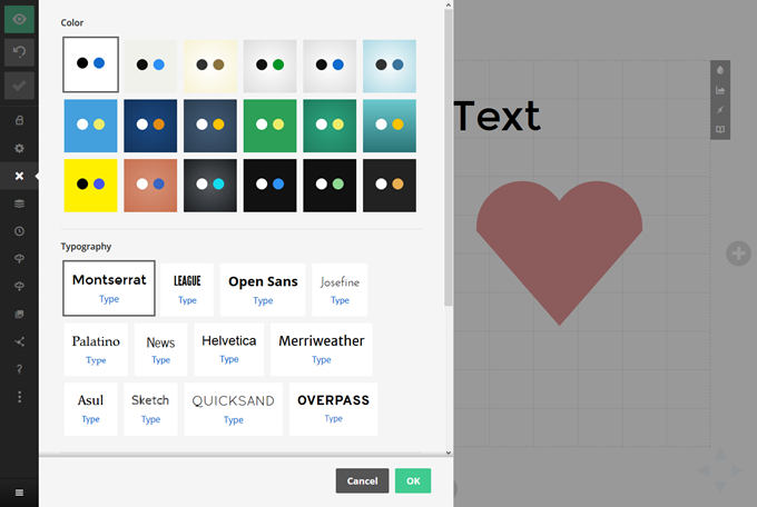 Slides- スライド全体のスタイルを設定したり