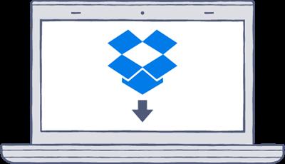 Windows版Dropboxのダウンロード