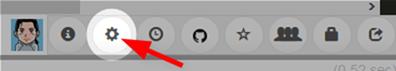 paiza.IOのエディターの設定ボタン