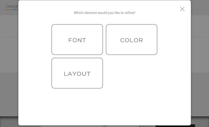 フォント、色、レイアウトの修正