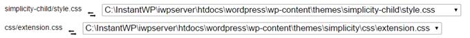 Sublime Textで開いたCSSをライブプレビューできる状態