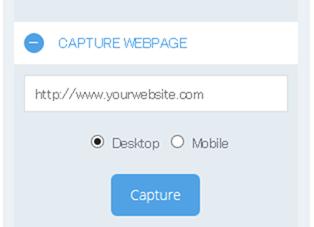 URLからキャプチャー機能