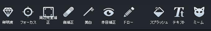 Adobeエディターの主な機能2