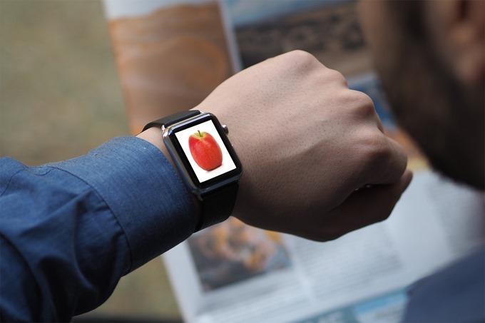Apple Watchと林檎