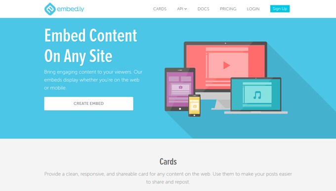 Embedly makes your content more engaging and easier to share  Embedly