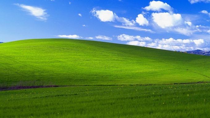 Windows XPのデフォルト壁紙