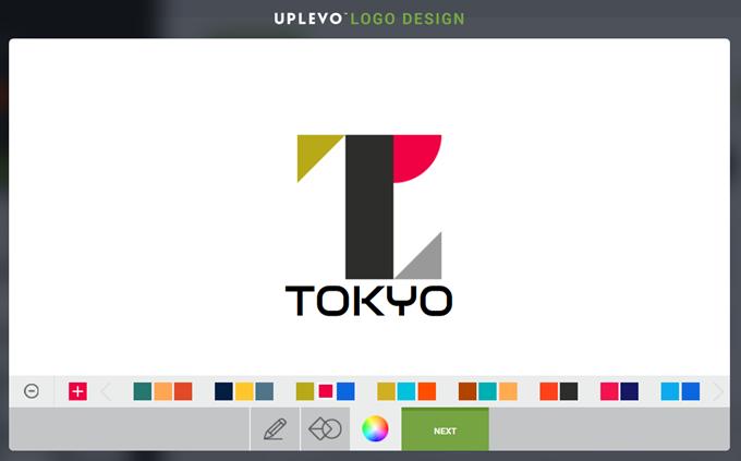 東京オリンピックっぽいロゴ