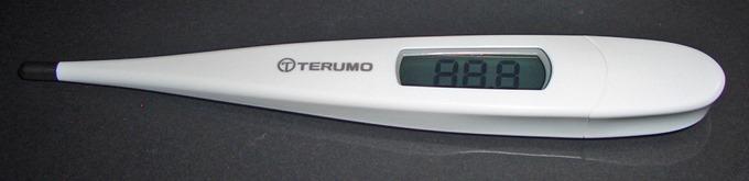 テルモ電子体温計【ワキ下用】 ET-C205S(隙間がない)