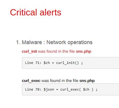 curl_initの利用で警告が出る
