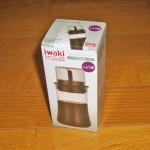 シンプルで小さめの醤油差し「iwaki フタ付きしょうゆ差し 120ml」を購入してみました