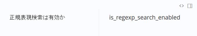 「正規表現検索は有効か」という名前を生成
