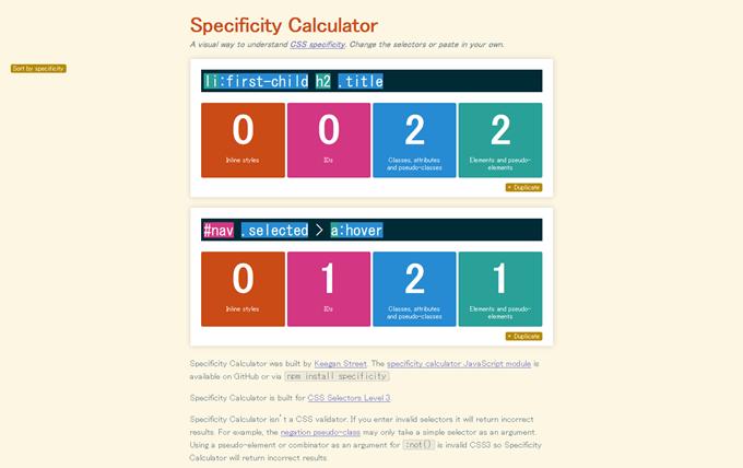 Specificity Calculator