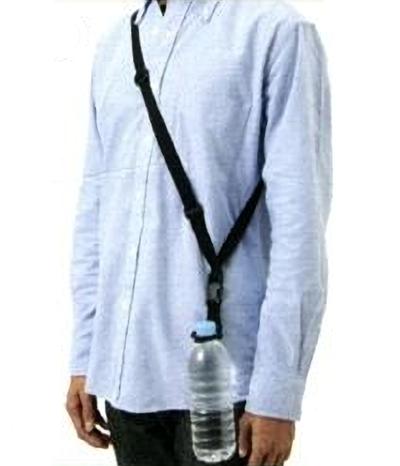 ペットボトルホルダー肩から掛けるショルダータイプ