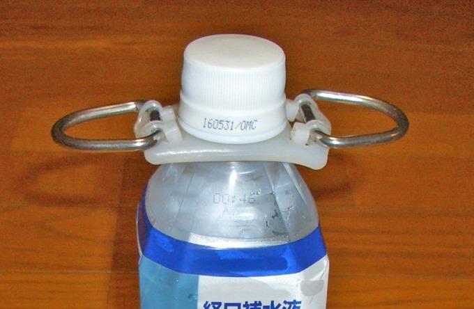 ペットボトルホルダーを使った自助具