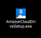 AmazonCloudDriveSetup.exeという実行ファイルがダウンロードされる