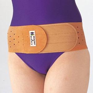 腰痛ベルトの使用例