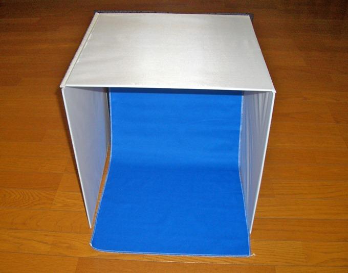 撮影ボックスの完成形