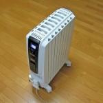 静かで乾燥しにくい暖房「デロンギ オイルヒーター」にしたら良質な暖かさで夜も快眠
