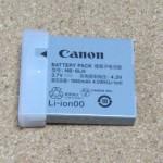キヤノンのPowerShot・IXYシリーズ向け純正バッテリーパックNB-6LHを交換用として購入