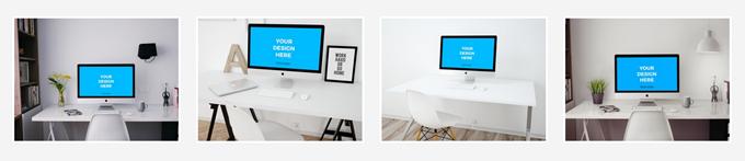 Smartmockupsのデスクトップの雛形
