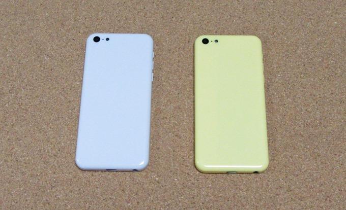 iPhoneモックアップ(白色と黄色)