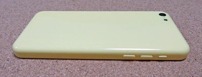 iPhone 5Cモックアップの操作ボタン部分