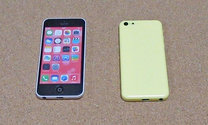 LATA ( プラタ ) iPhone 5C モック アップ 【 イエロー 】