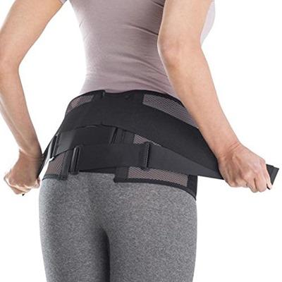 腰への装着方法の例