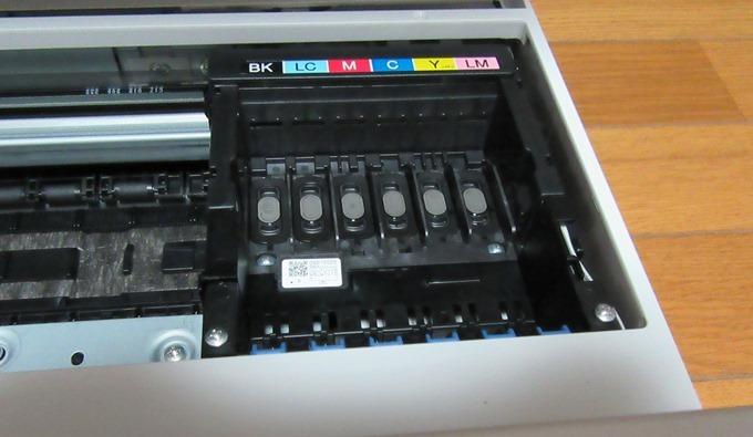 カラリオ EP-707Aのインクトレイ