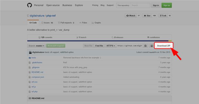 GitHub - digitalnature-php-ref- A better alternative to print_r - var_dump