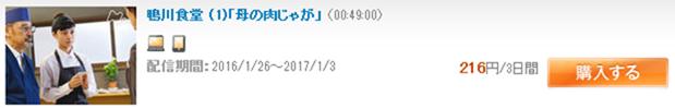 GyaOで一話216円する国内ドラマ