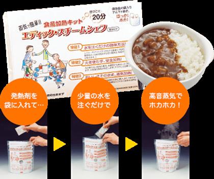 食品加熱キット エディック・スチームシェフ