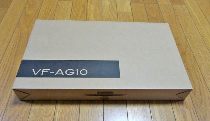 Critea VF-AG10の箱
