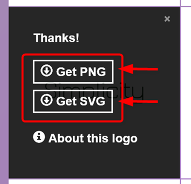 PNGかSVGファイルをダウンロード