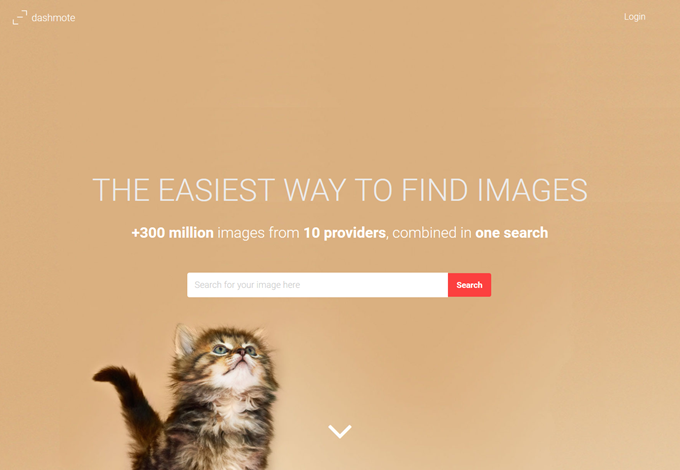 Royalty free stock images - multiple providers in one search Dashmote