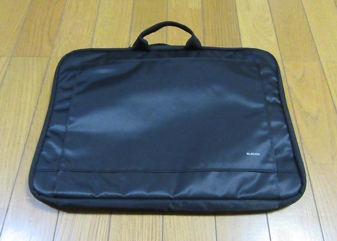 エレコムのノートパソコン用バッグ
