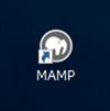 デスクトップのMAMPショートカット