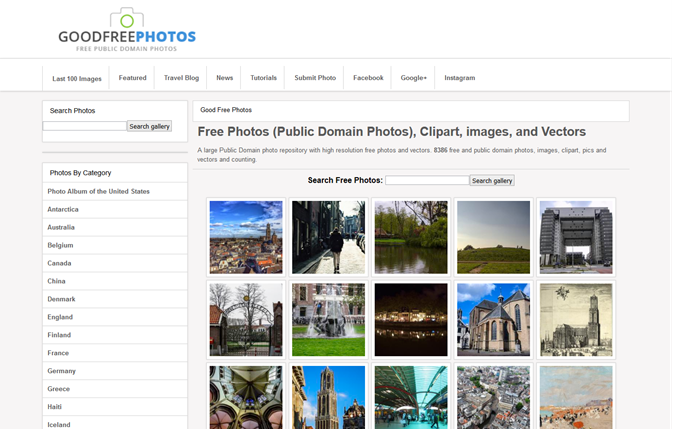 Good Free Photos - Free Public Domain Stock Photos and Clipart