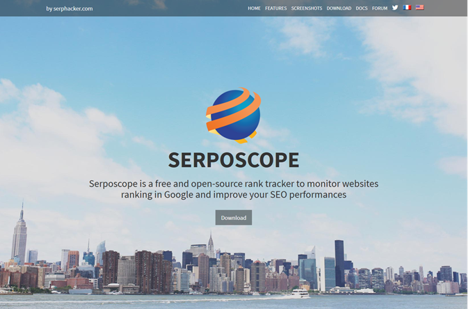 Open source rank checker for SEO  serposcope
