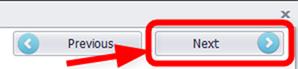 抽出アイテムの設定を終えたらネクストボタンを押す