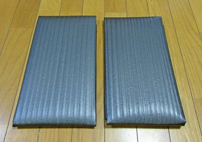 1m×1mの備長炭シートが2枚