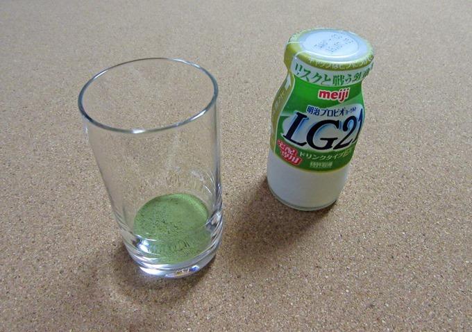 飲むヨーグルト(LG21)で作ってみる