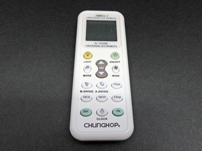 各社共通1000種対応 エアコン用ユニバーサルマルチリモコン-520012 K-1028E