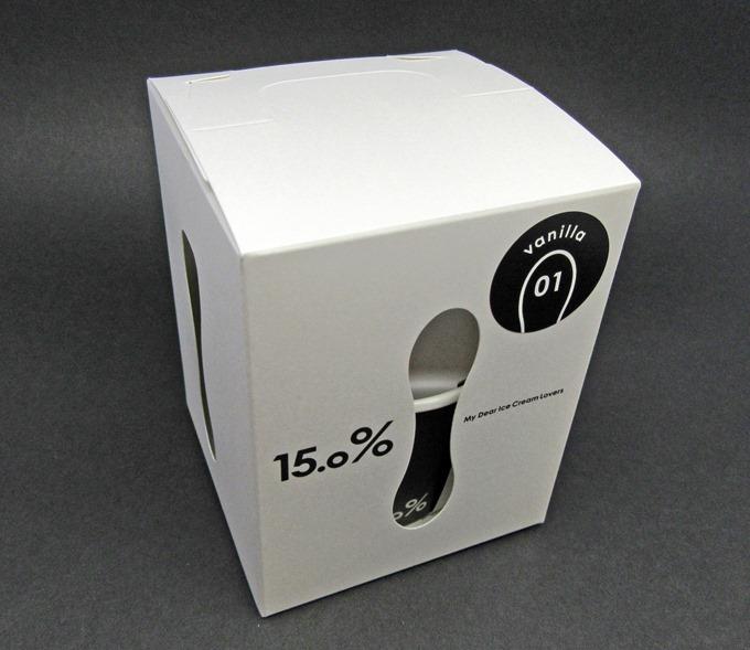 15%アイスクリームスプーンのパッケージ