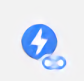 AMP対応ページが存在する場合は青色のアイコンが表示