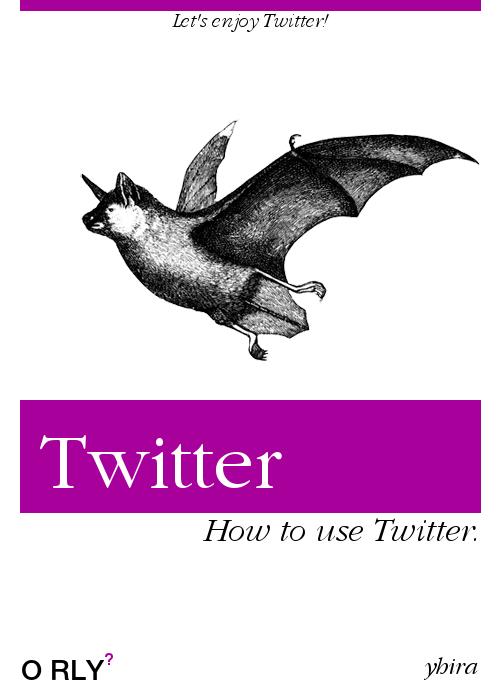 Twitterのオライリー表紙