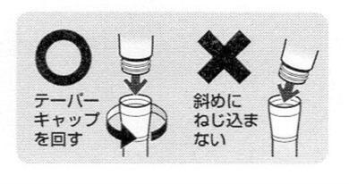 三栄水栓のシャワーヘッドのッテーバーキャップの回し方